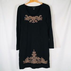 Karen kane dress Black knit Stretch L
